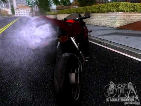 Honda CBR 600 RR para GTA San Andreas esquerda vista
