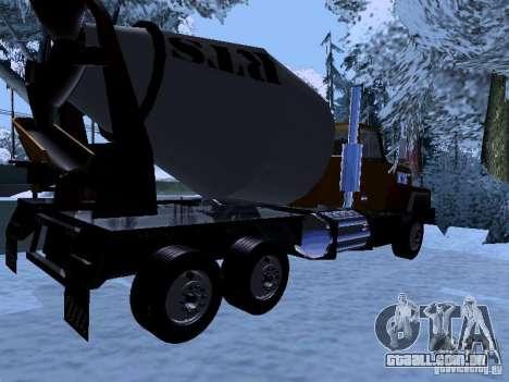 RTS 420 Šatalka para GTA San Andreas vista direita