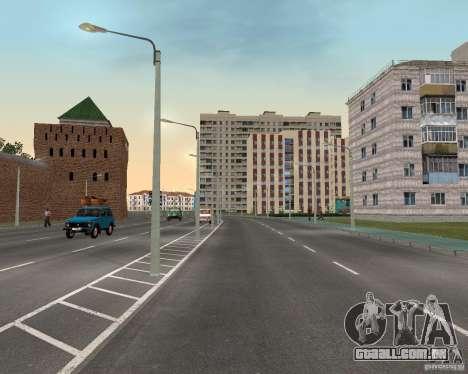 Nižegorodsk v. 0.1 BETA para GTA San Andreas terceira tela