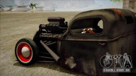 Rat Rod para GTA San Andreas esquerda vista