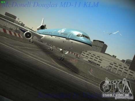 McDonnell Douglas MD-11 KLM Royal Dutch Airlines para GTA San Andreas
