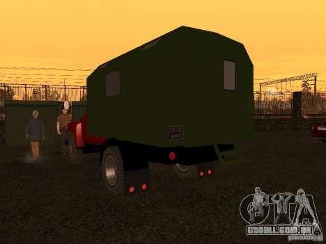 GAZ 52 para GTA San Andreas vista direita