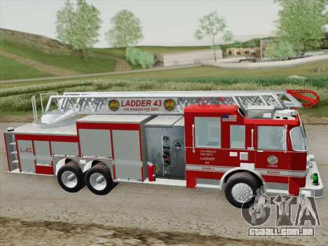 Pierce Arrow LAFD Ladder 43 para GTA San Andreas vista superior