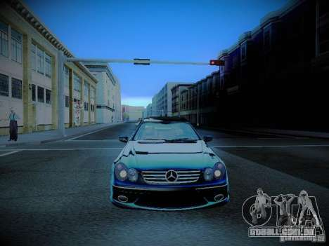 Mercedes-Benz CLK 55 AMG Coupe para vista lateral GTA San Andreas