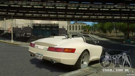 Comet Speedster para GTA 4 esquerda vista