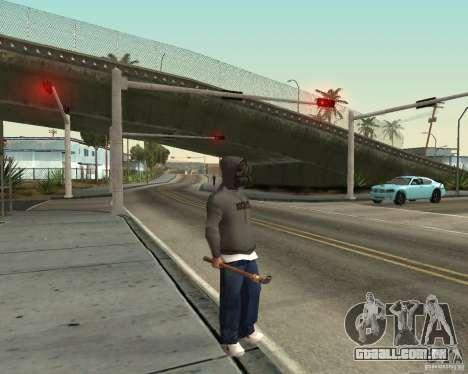 Robber para GTA San Andreas por diante tela
