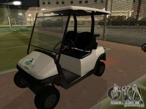 Transportador de GTA TBoGT para GTA San Andreas vista traseira