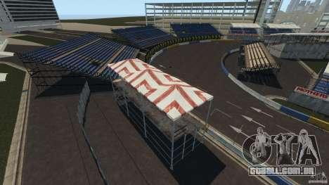 Long Beach Circuit [Beta] para GTA 4 sexto tela