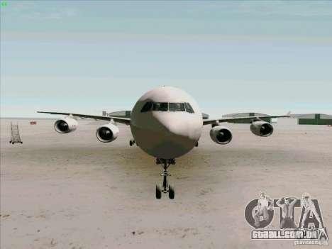 Airbus A-340-600 Iberia para vista lateral GTA San Andreas