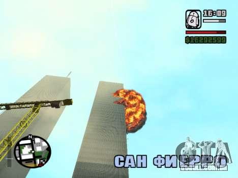 Torres gêmeas BETA para GTA San Andreas