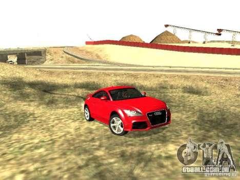 Audi TT-RS Coupe 2011 v.2.0 para GTA San Andreas esquerda vista