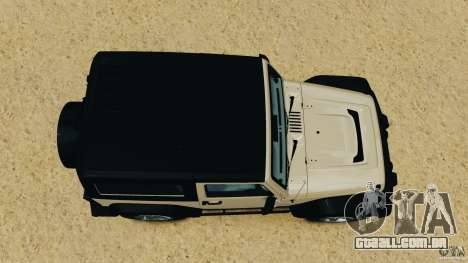 Jeep Wrangler Rubicon 2012 para GTA 4 vista direita