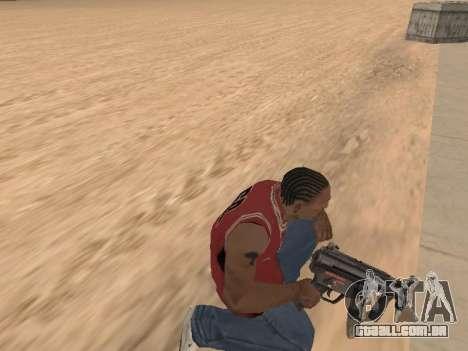 MP5K para GTA San Andreas quinto tela