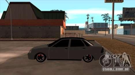 Lada Priora para GTA San Andreas vista direita