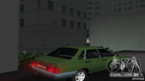 VAZ 21099 para GTA Vice City deixou vista