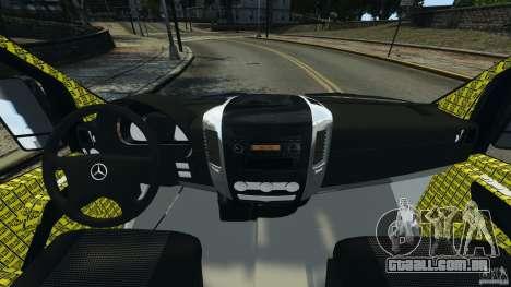 Mercedes-Benz Sprinter Police [ELS] para GTA 4 vista de volta