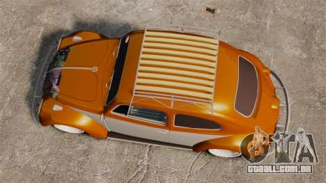 Volkswagen Fusca Edit para GTA 4 vista direita
