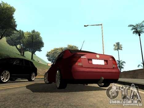Volkswagen Bora DUB para GTA San Andreas esquerda vista