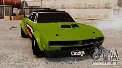 Dodge Charger RT SharkWide para GTA 4
