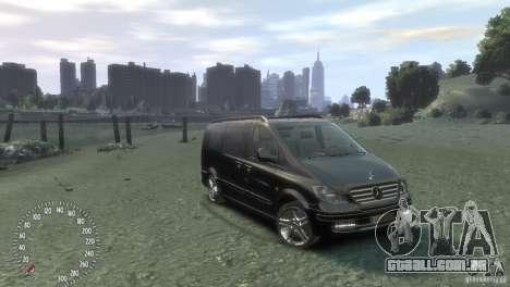 Mercedes-Benz Vito 2013 para GTA 4 esquerda vista