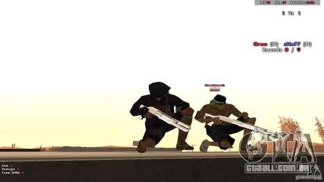 New Chrome Guns v1.0 para GTA San Andreas por diante tela