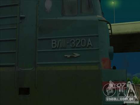 Vl11-320 para GTA San Andreas vista traseira