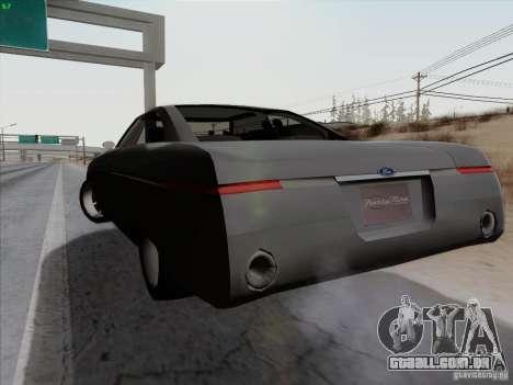 Ford Fortynine para GTA San Andreas traseira esquerda vista