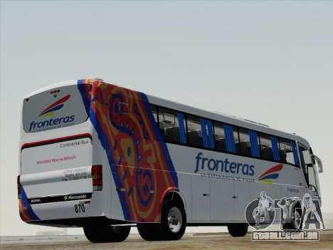 Marcopolo Paradiso 1200 G6 para GTA San Andreas vista direita