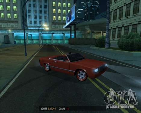 Feltzer v1.0 para GTA San Andreas vista interior