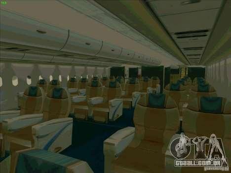 Airbus A380-800 para as rodas de GTA San Andreas