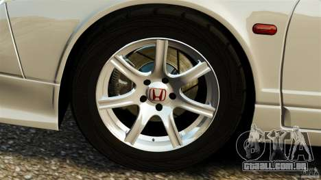 Honda NSX-R GT para GTA 4 vista lateral