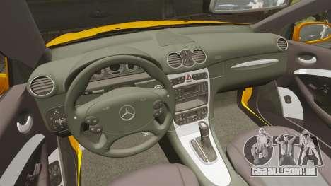 Mercedes-Benz CLK 55 AMG para GTA 4 vista de volta
