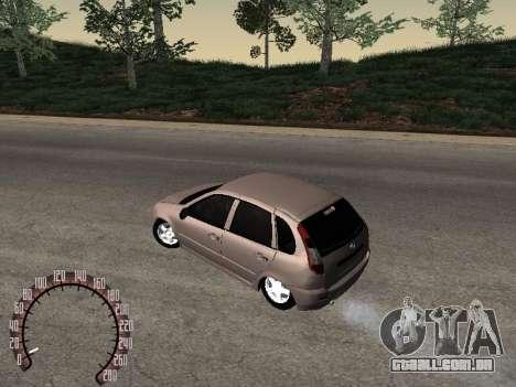 LADA 1119 para GTA San Andreas esquerda vista