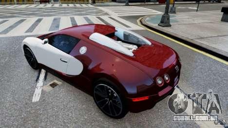Bugatti Veyron 16.4 v1.0 wheel 1 para GTA 4 vista direita