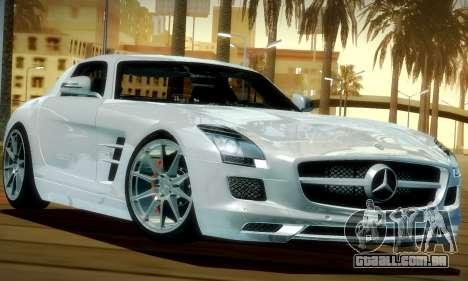 Mercedes-Benz SLS AMG 2010 para GTA San Andreas esquerda vista