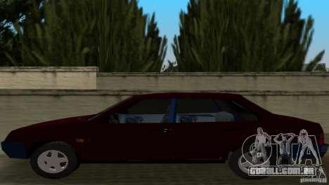 VAZ 21099 para GTA Vice City vista traseira