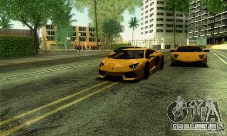 SA_gline v 2.0 para GTA San Andreas por diante tela