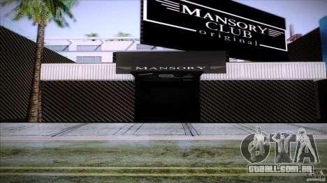 Mansory Club Transfender & PaynSpray para GTA San Andreas segunda tela
