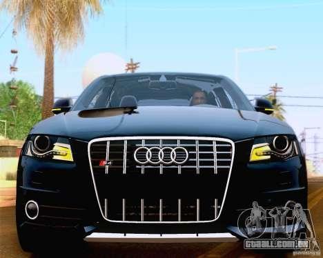 Audi S4 2010 para vista lateral GTA San Andreas