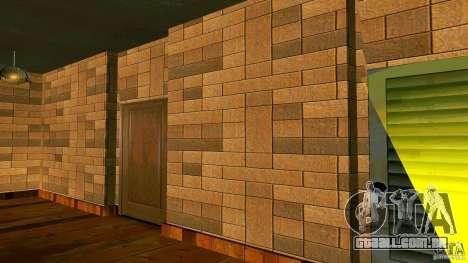 Novas texturas para a casa de CJ para GTA San Andreas segunda tela