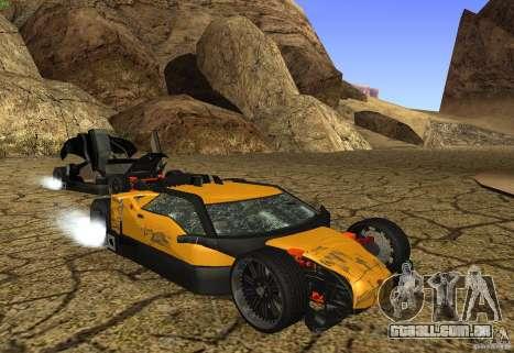 Guarda para GTA San Andreas vista superior