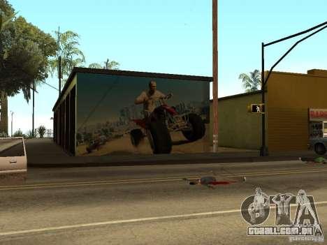 Cartaz de GTA 5 para GTA San Andreas terceira tela