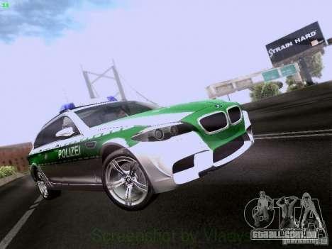 BMW M5 Touring Polizei para GTA San Andreas
