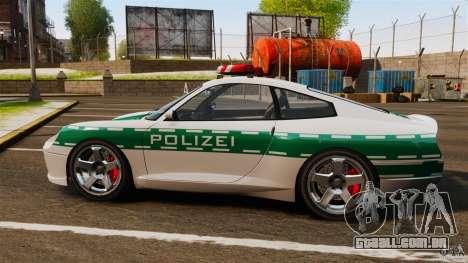 Comet Police para GTA 4 esquerda vista