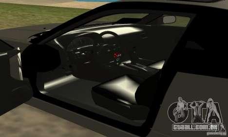 Nissan SIL80 para GTA San Andreas vista traseira