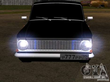 Estilo Extra Moskvitch 408 para GTA San Andreas