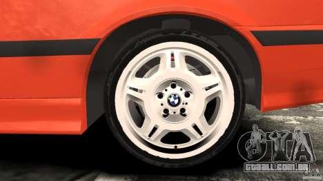 BMW M3 E36 para GTA 4 interior
