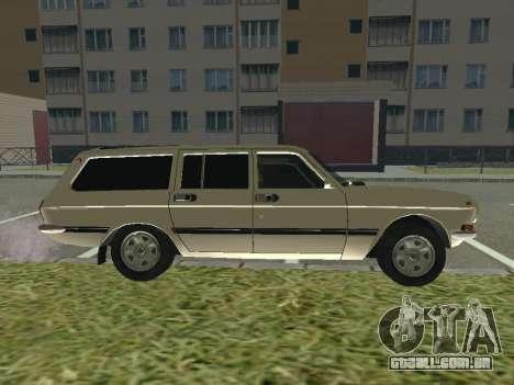 GAZ-24 Volga 12 para GTA San Andreas traseira esquerda vista