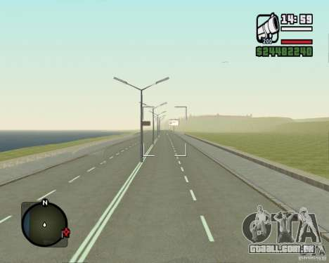 Estrada de Leiria-Nižegorodsk para GTA San Andreas