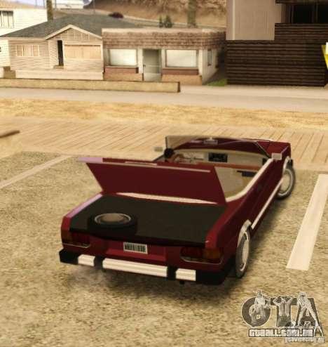 Feltzer HD v2 para GTA San Andreas vista direita